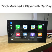 Carlinke 7inch Universal Android 7.0 System Car Radio Stereo Multimedia Player with iOS 11 Apple CarPlay Function Android Auto