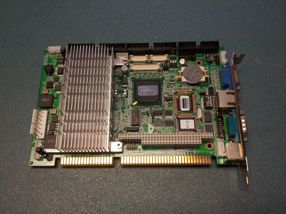 PCA-6773 A1 flexible industrial PC motherboard ISA PC/104 IPC board Half-Size