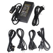 Car Cigarette Lighter AC DC Power Converter Adapter 110V 220V to 12V 5A 6A 7A 8A 10A Power Supply Switch Lighting Transformer ac 110v 220v to dc 48v 5a 240w constant voltage switch power supply transformer