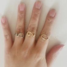 Jemný dámský prsten s oblíbeným číslem, více barev