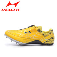 Health Professional Running Shoes Men Woman Sports Training Sprint Shoe Teenagers Track And Field Competition Spike