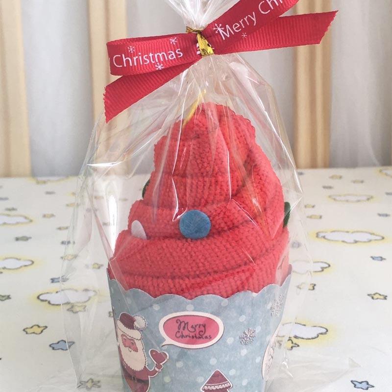 Summitkids 30 * 60cm Baby Towel 1 szt. Czerwony zielony kolor Cute - Opieka nad dzieckiem - Zdjęcie 4