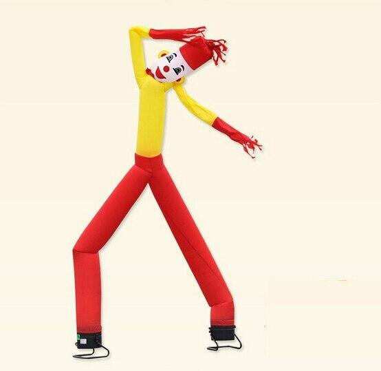 4m Custom Advertising Inflatable Sky Dancer/ Air Dancer Popular Inflatable Advertising Man цена