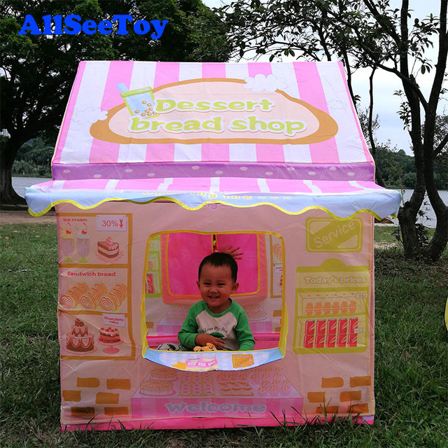 Nice Design Kids Play House TentDessert Bread Shop Toy Tent for kids Foldable & Nice Design Kids Play House TentDessert Bread Shop Toy Tent for ...