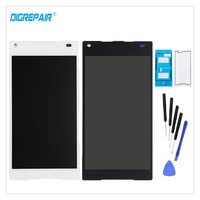 100 New Black White For Sony Xperia Z5 Compact Mini E5803 E5823 LCD Display Digitizer Touch