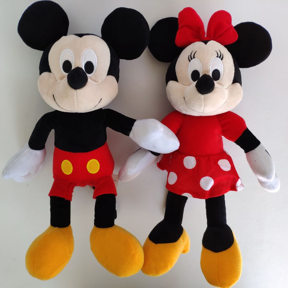 Mickey Mouse 35CM  Plush Toys Stuffed Animals Soft Toys Kids Toys Christmas Gift Minnie Mouse Christmas Gift Girl