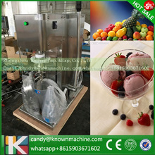 Fruit ice cream feeder from factory selling gelato fruit nuts mixer