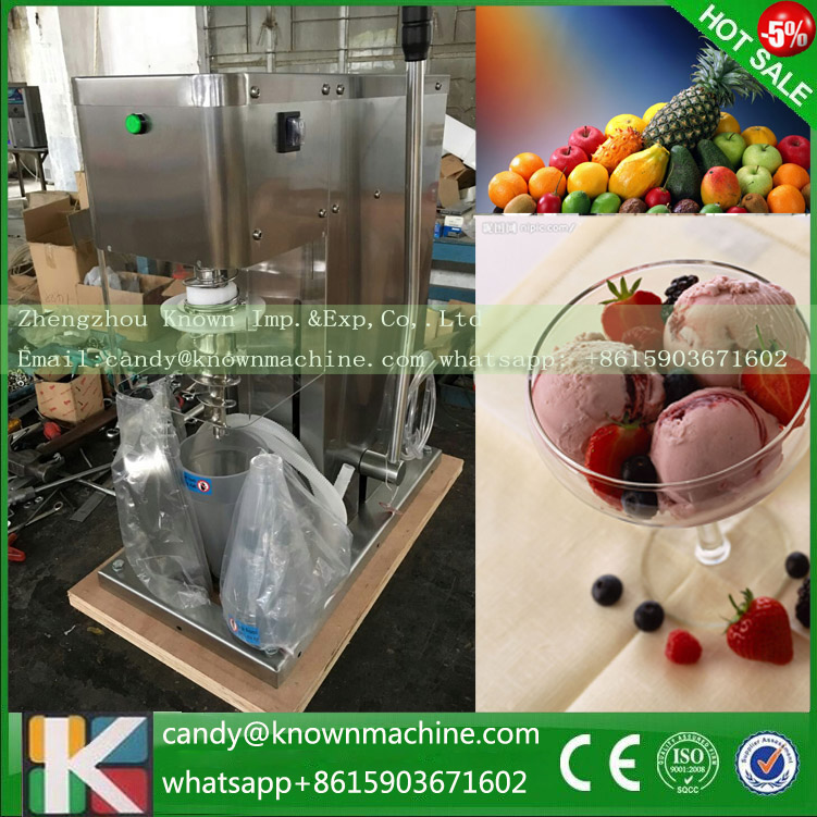 Fruit ice cream feeder from factory selling gelato fruit nuts mixer fruit ice cream feeder from factory selling gelato fruit nuts mixer