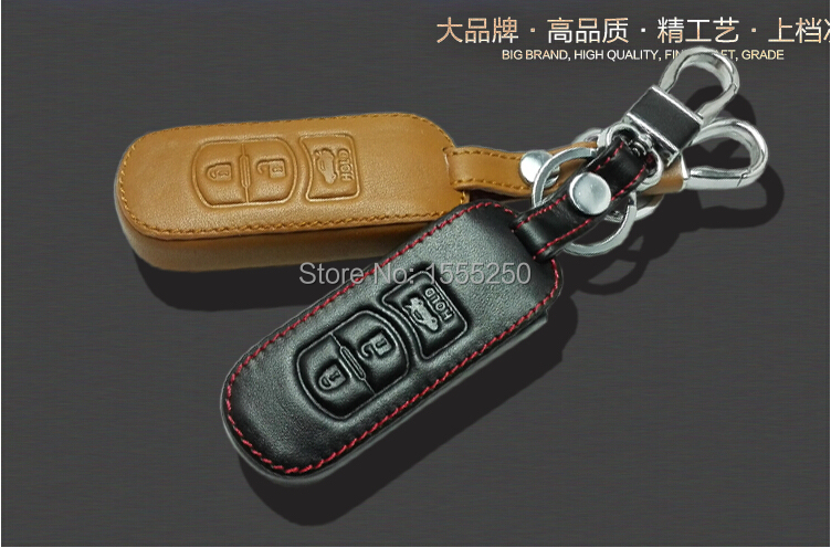 Genual кожаный ключ сумка, авто ключ держатель, ключ чехол для Mazda 3 mazda 6, CX-5, авто аксессуары, тюнинг автомобилей