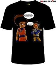 Boondocks Dragonball T-Shirt Unisex Adult Funny Sizes Cotton Cartoon TV New Free shipping