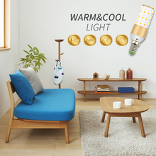 CanLing E27 Led 220V Corn Light Bulb E14 Bombillas 110V 3 Color Temperature Integrated Candle Lamp LED 3W 5W 7W Home Ampoule