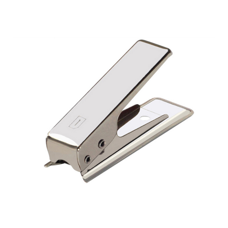 Micro SIM Card Punch Punch Cutter Cutter 2x Adapter for Mobile Phone Smartphone Card Cutter for Cellphone