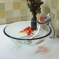 Китай ручной умывальник Lavabo Искусство умывальник стеклянный Счетчик Топ умывальник раковины для ванной комнаты сосуд Раковина Чаши lo626556
