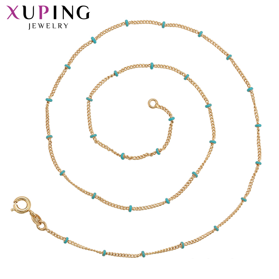 11.11 Deals Xuping Jewelry Simplicity Necklace Charm Style Temperament Ladies for Women New Years Day Gifts S119.2-44825