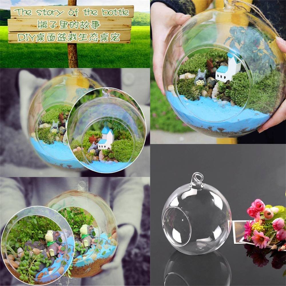 2018 hot sale 8cm hanging glass flowers plant vase stand holder 2018 hot sale 8cm hanging glass flowers plant vase stand holder terrarium container floor standing vases wedding decoration in vases from home garden on reviewsmspy