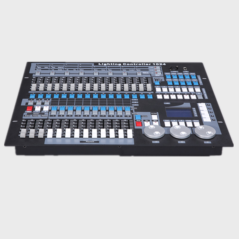 professional lighting control 1024 stage light dmx console moving light controller 96pcs computer lights with carton package dmx512 digital display 24ch dmx address controller dc5v 24v each ch max 3a 8 groups rgb controller