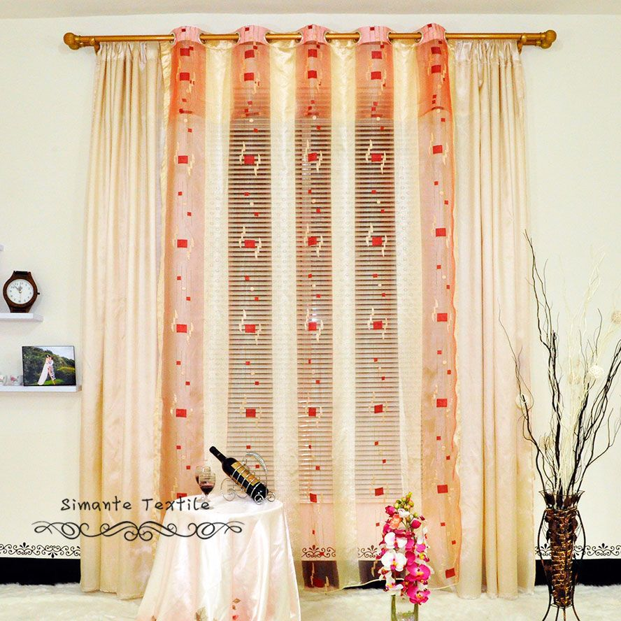 Aliexpress.com : Buy Free Shipping Simple Curtain Design Organza Jacquard  Sheer Tulle Curtains Fabric From Reliable Curtain Outdoor Suppliers On  NAPEARL ...