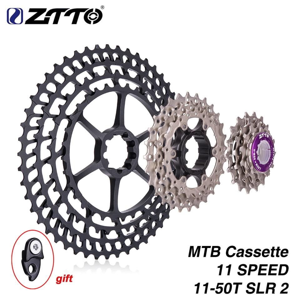 ZTTO 11-50T SLR 2 Cassette MTB 11Speed Wide Ratio UltraLight Freewheel Flywheel
