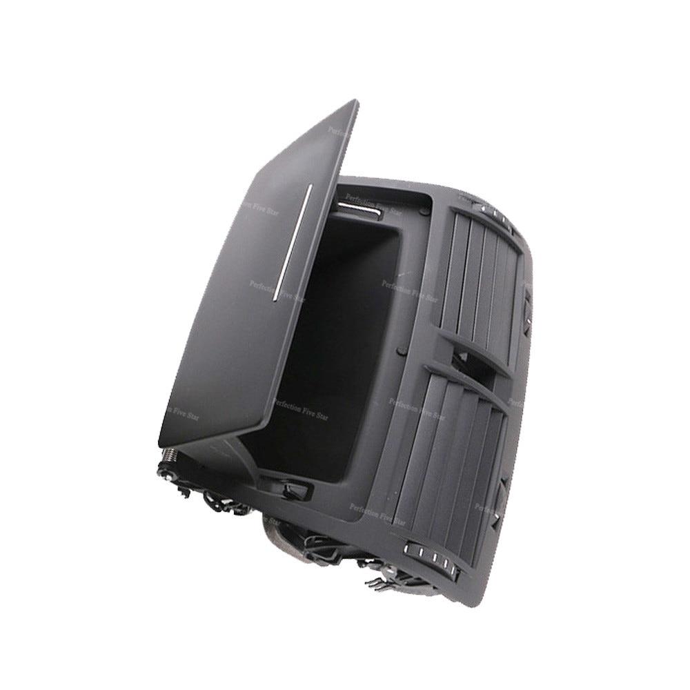 Black Dash Center Air Vent Outlet Storage For Skoda OCTAVIA MK2 2004-2013