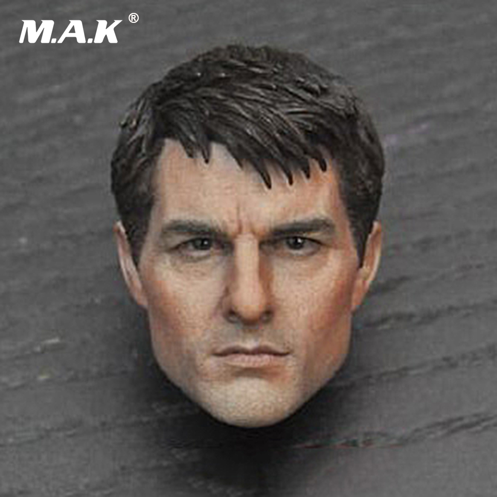 1/6 Scale Edge of Tomorrow Tom Cruise Head Sculpt US Actor Male Head Model 1 6 scale male clothes suit the game of death bruce lee head sculpt