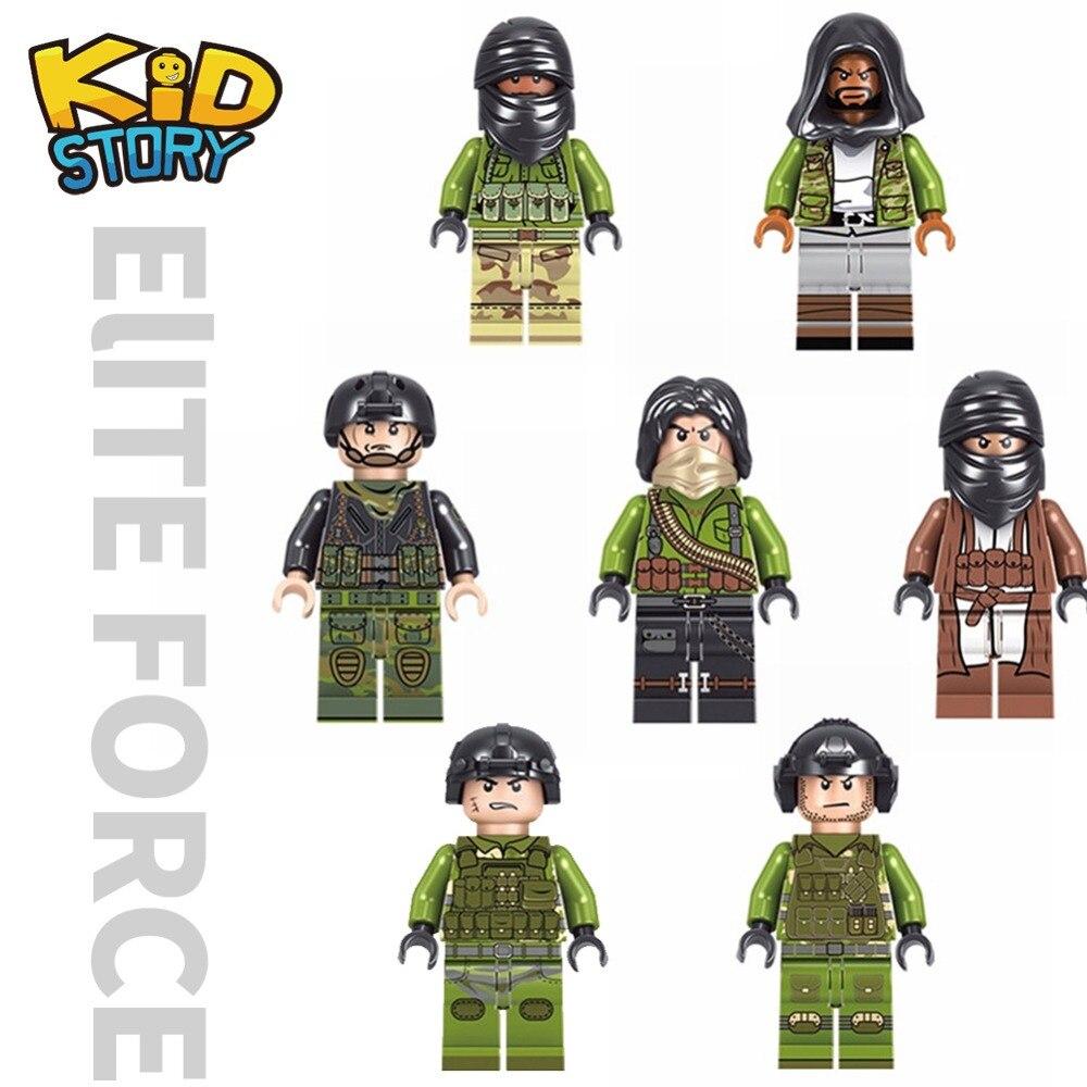 14x WWII Weapons for Minifigs Blocks Toy Guns Army Military WW2 SWAT Police WW1