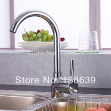Дизайн кухня кран одинарная ручка керамика картридж хром ванная миксер затычка