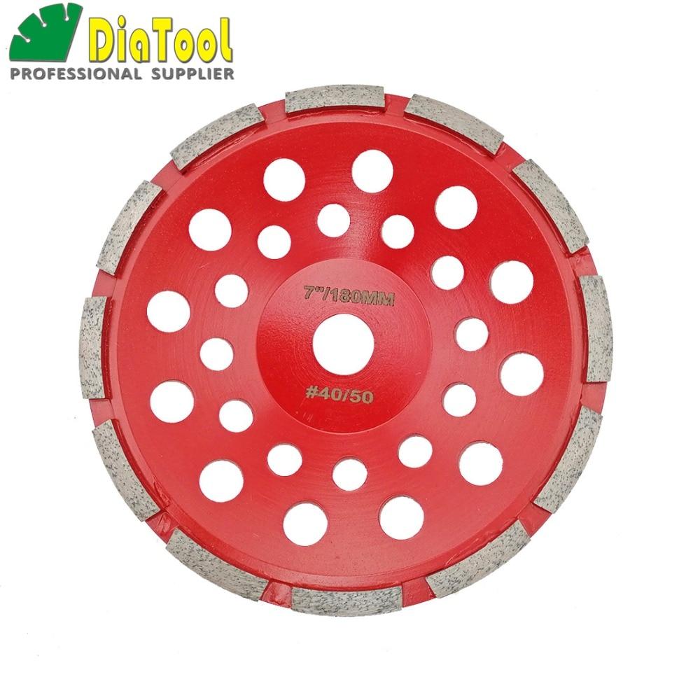 DIATOOL Diameter 180MM Diamond Single Row Cup Wheel For Concrete Masonry, Diamond Grinding Wheel, Bore 22.23mm Grinding Disc цена