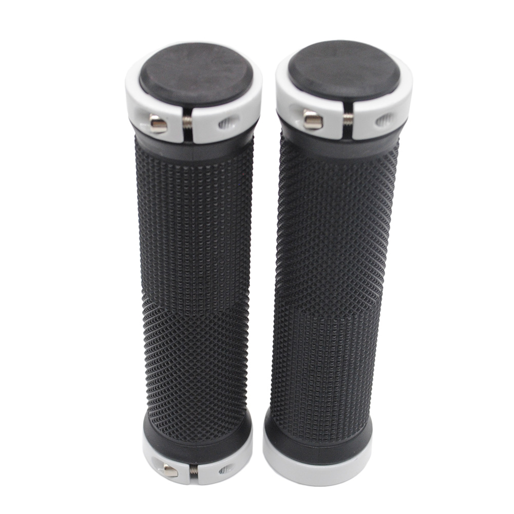 1 pair High quality Bike Bicycle  Cover Grips Smooth Soft Rubber  cover handle bar