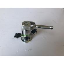 50.5mm SS616 TC sanitary aseptic sampling valve, Clamp sanitary sampling valve with handle