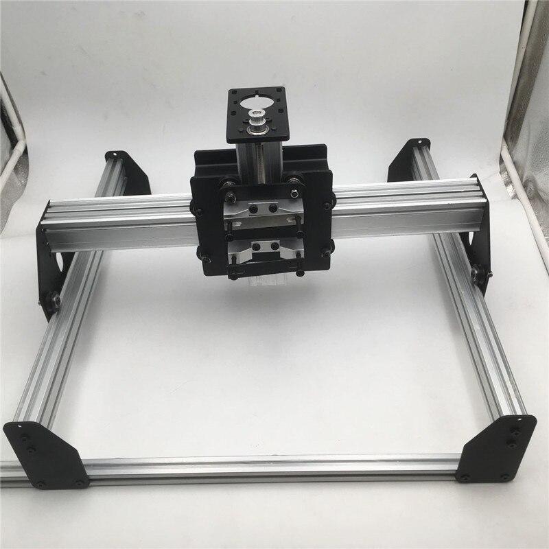 1 set Shapeoko X-carve mix CNC router mechanical kit CNC milling machine 3D printing Desktop CNC Machine kit no motor