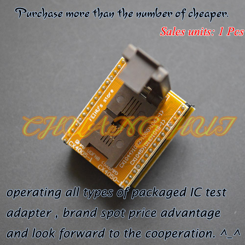 все цены на CX1045 CX1016 CX1048-1 adapter module can be used after modification QFN8 to DIP8 adapter WSON8 VDFN8 MLF8 Pitch=1.27mm онлайн