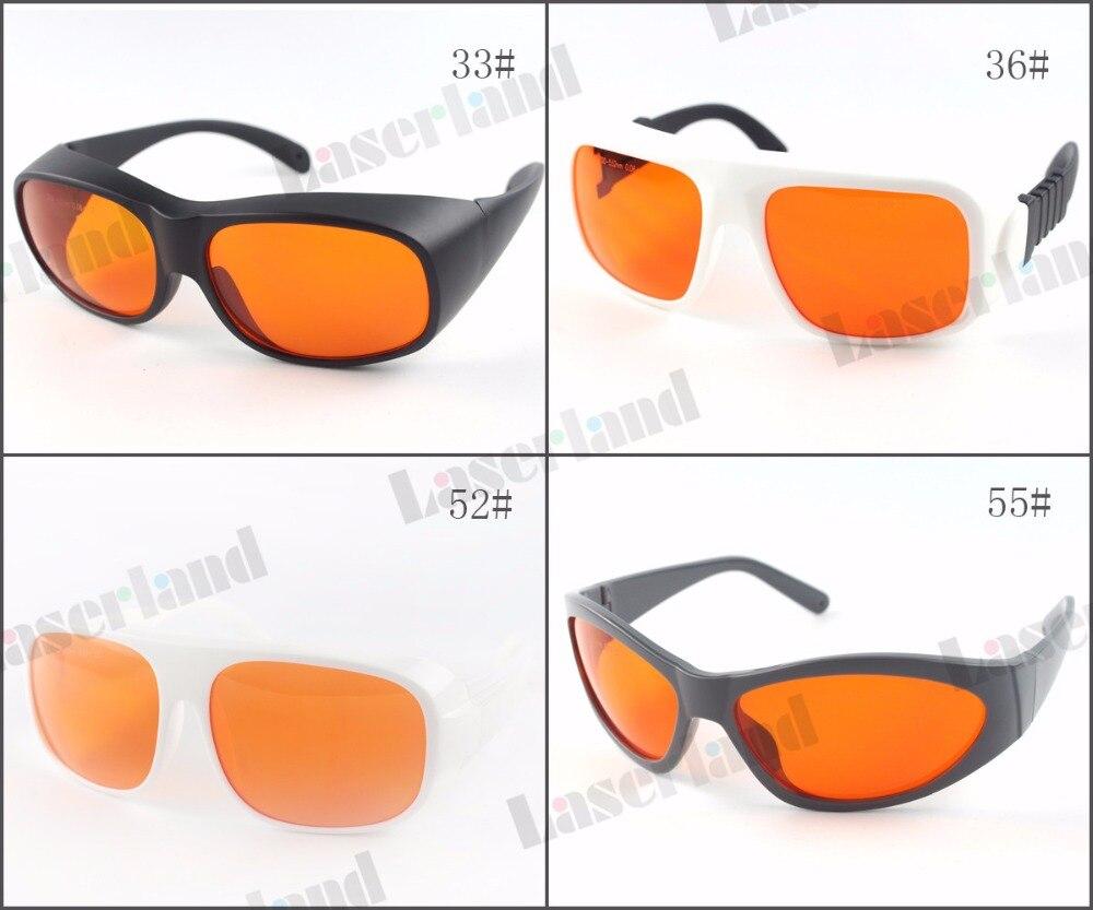 Laserland LP-GHP VU 405nm 445nm 450nm 532nm OD6 + фиолетовый синий зеленый лазер защитные очки Детская безопасность очки
