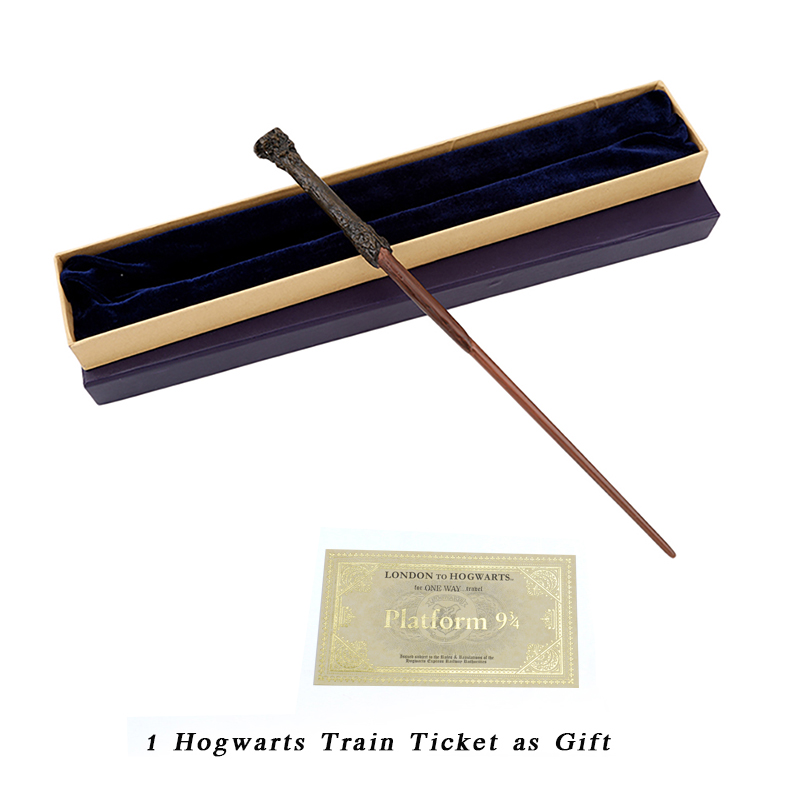 Metal/Iron Core Harry Magic Wand/Cosplay Harry Wand Magic Tricks Wand/Varitas Harry's Wand/Gift Box Pack