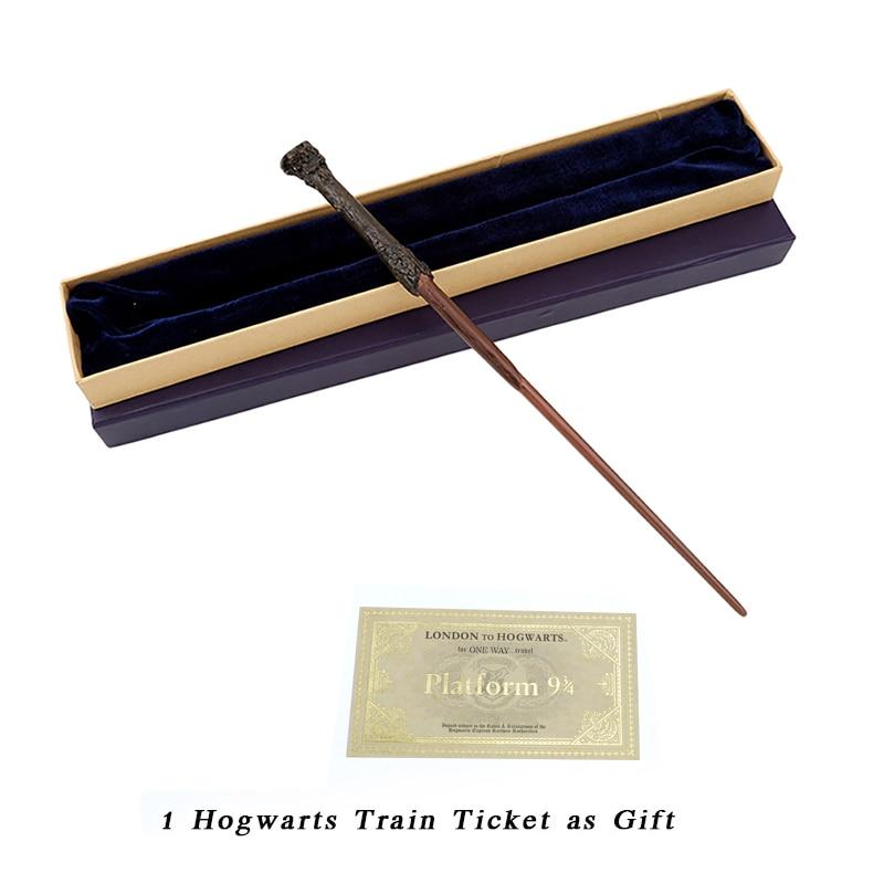 Metal/Iron Core Harry Magic Wand/Cosplay Harry Wand Magic Tricks Wand/Varitas Harry's Wand/Gift Box Pack