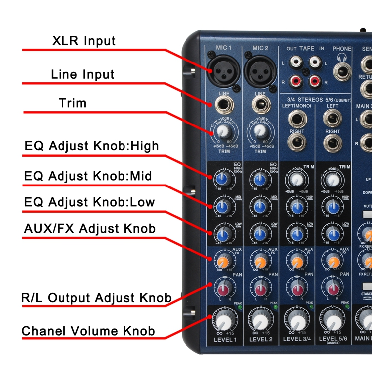 SMR6  11  Audio Mixer