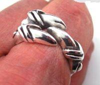 Серебряное кольцо чистого серебра серии серебряный мужской кольцо открытие Алондра Изысканные кольца
