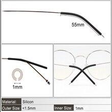 COLOUR_MAX  4 Colour Anti Slip Spectacle Grip Glasses Ear Hook Silicone Eyeglasses Tie Leg