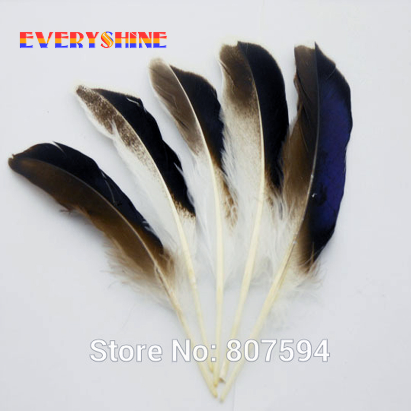 Cheap For Sale Nature Mallard Duck Plume Craft Feather For
