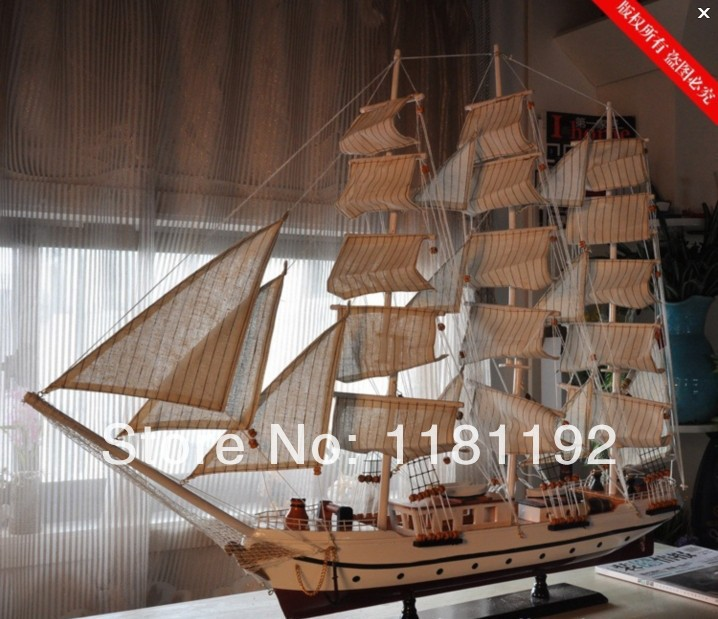 Home Decoration Wooden Sailboat Model Vintage Decor Craft Accessories Handmade Wedding Office Business Gifts On Aliexpress Alibaba Group