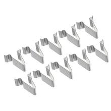 10Pcs 22mm Auto Metal Trim Interior Panel Lining Clip Retainer Rivet Fastener For Audi Seat Skoda