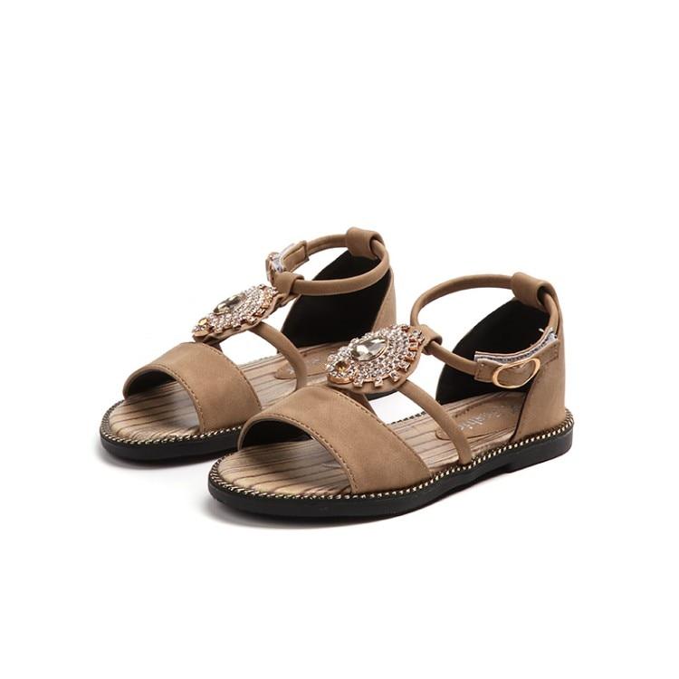 8beac0b00805c Été enfants filles chaussures paillettes princesse plage chaussures ...