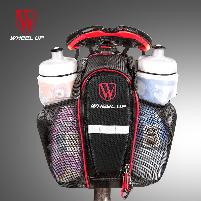 Bike bag bicycle bag saddle 2 Pockets Bike Bag Bicycle Seat post Bike Seat Rear saddle Bags for bicycle cycling bike accessories