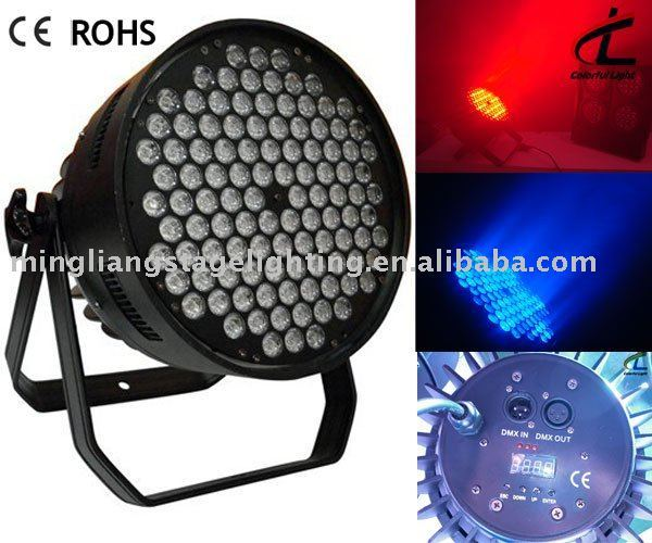high power led par light disco light 108--1W RGBW
