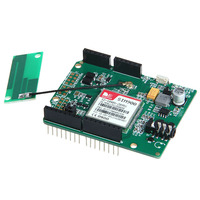 Brand New Wireless Communication Development Board GSM GPRS Shield Sim900 V2 0 Antenna Module 1pcs