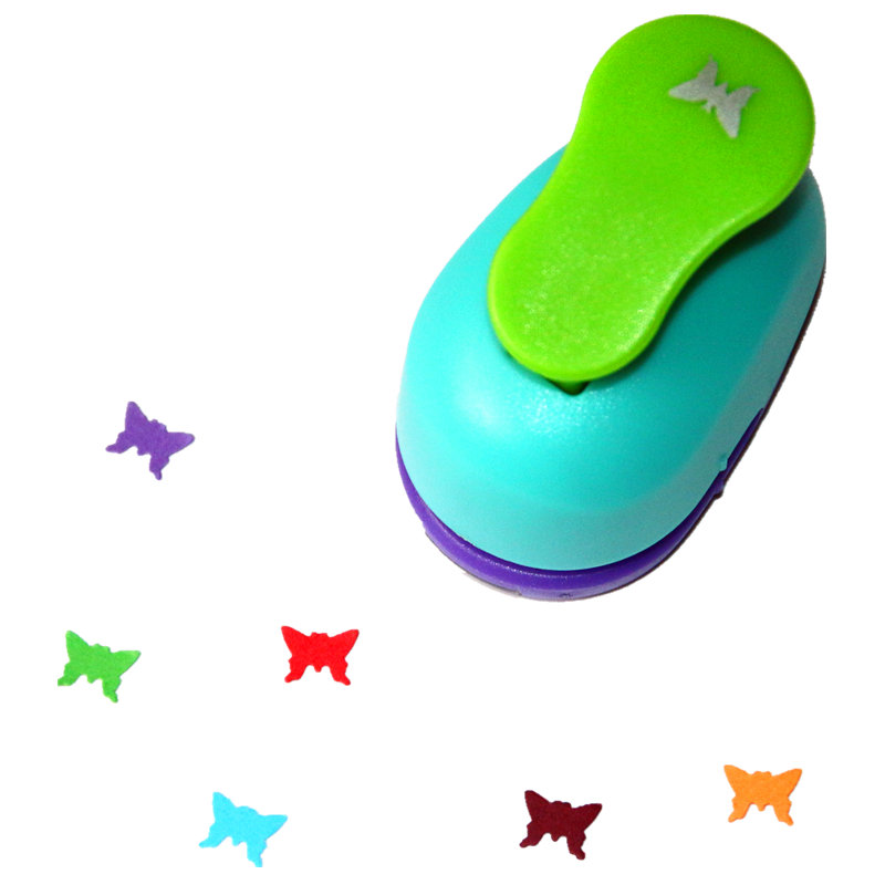 3/8'' 1cm Butterfly Paper Punch Scrapbooking Punches Craft Perfurador Paper Punch For Kids Furador Diy Puncher 31713