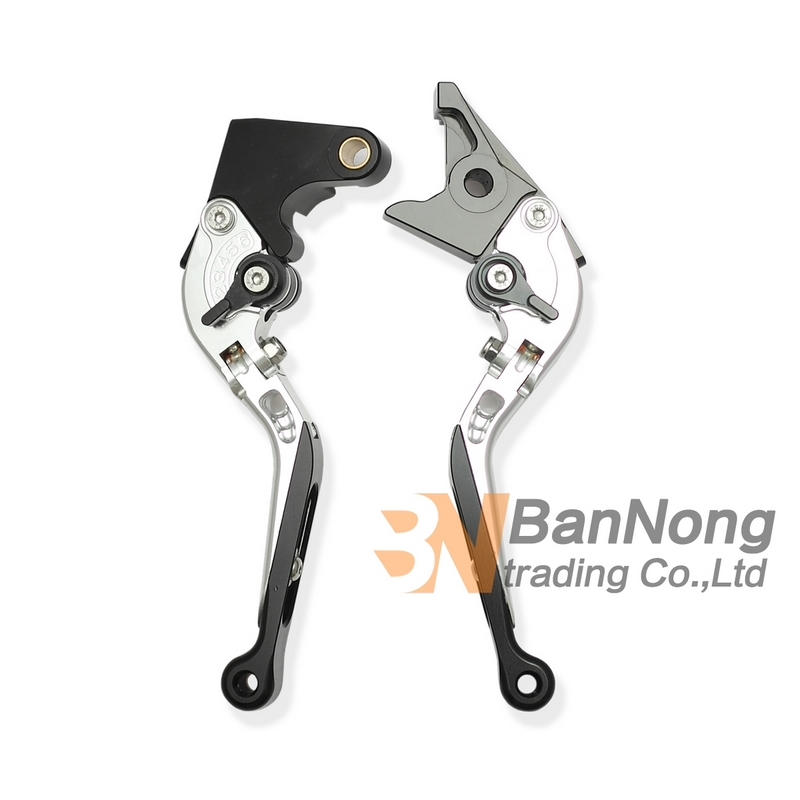 ФОТО motorcycle CNC Modified Aluminum Telescopic folding Brake Clutch Hand Levers For YAMAHA YZF600-R6 99-04 YZF1000 R1 02-03