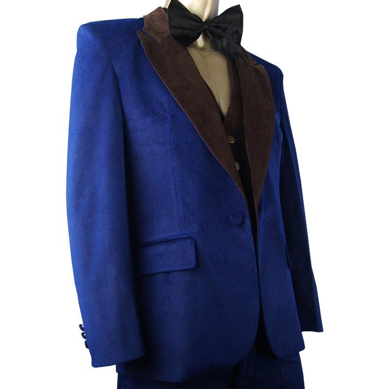 American Hustle Irving Rosenfeld Blazer Suit Halloween Men Adults Cosplay Costume Christmas Xmas Gift