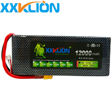 XXKLION drone Lipo battery pack 7.4v 12000mAh 30C 2S for rc airplane Aerial multi - axis unmanned aerial vehicle Free Shipping lynyoung rc car 2s lipo battery 3000mah 7 4v 30c for tank truck drone airplane akku