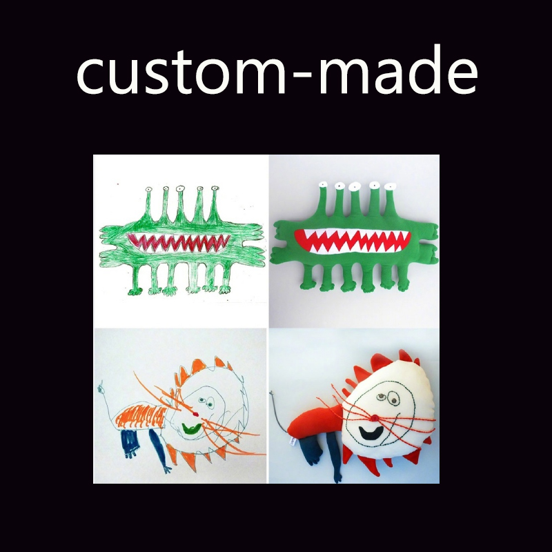 ФОТО DIY Customization soft stuffed doll custom-made plush toy cotton for kids best gift   xd028