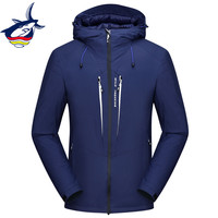 Tace & Shark Brand Winter Jacket Men High Quality White Duck Down Jacket Goose Feather Thicken Windproof Down Coat Men